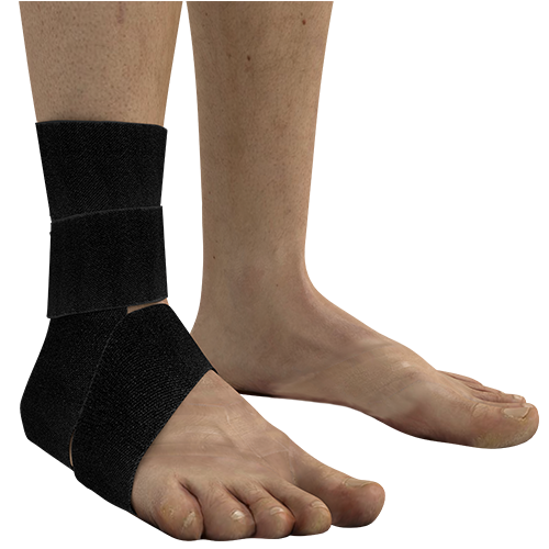 Use on the ankle